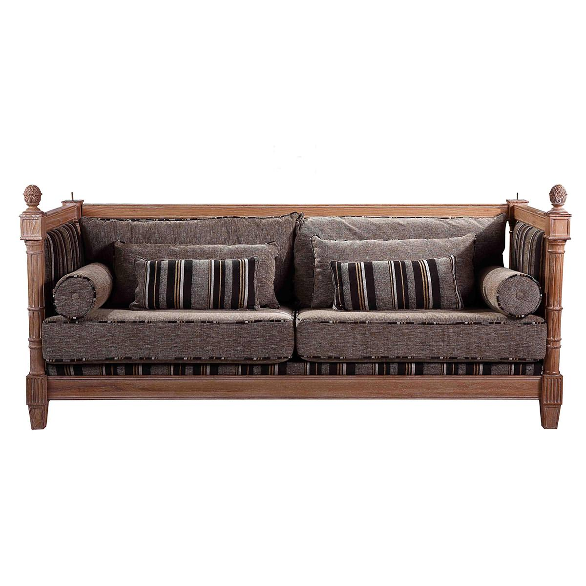 Classic style sofa|Solid wood Sofa|Living room Furniture