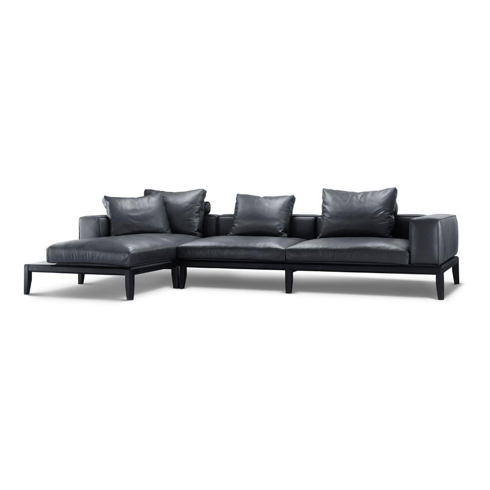 Living room sofa|genuine leather sofa|Italy sofa