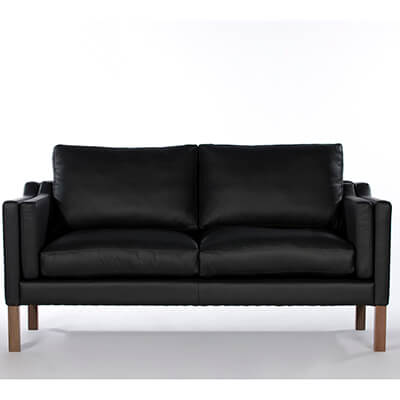 Stainless steel leather sofa set
