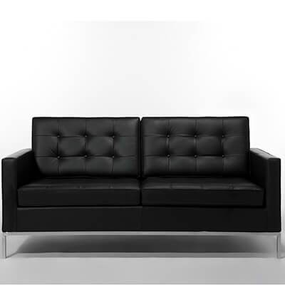 leather office couch