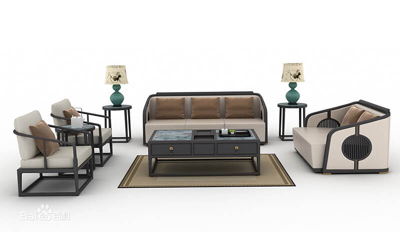 chinese style furniture living room sofa