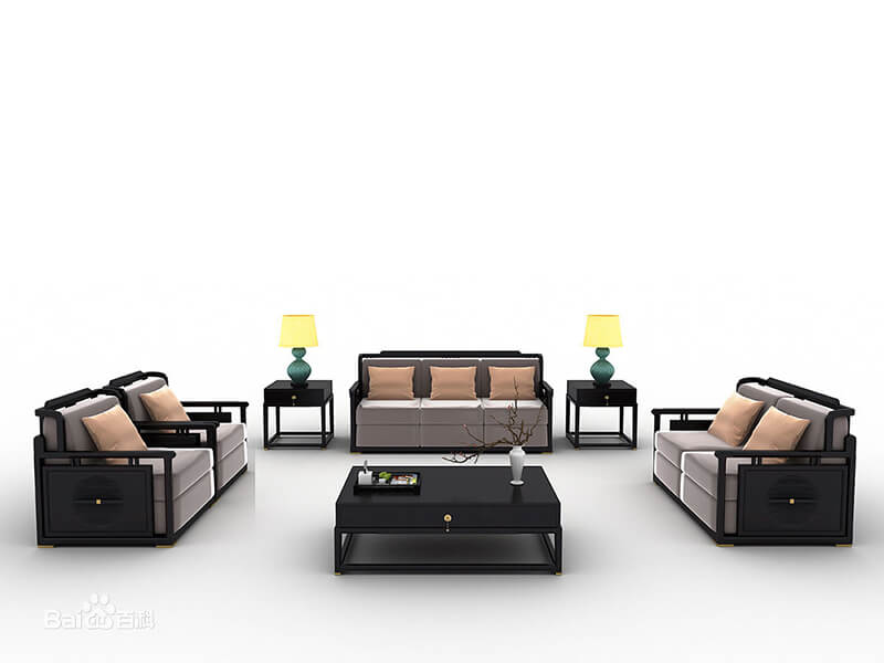 new chinese style furniture living room sofa