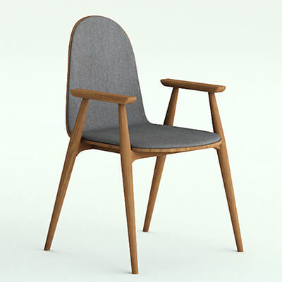Coffee Shop Dining Chair