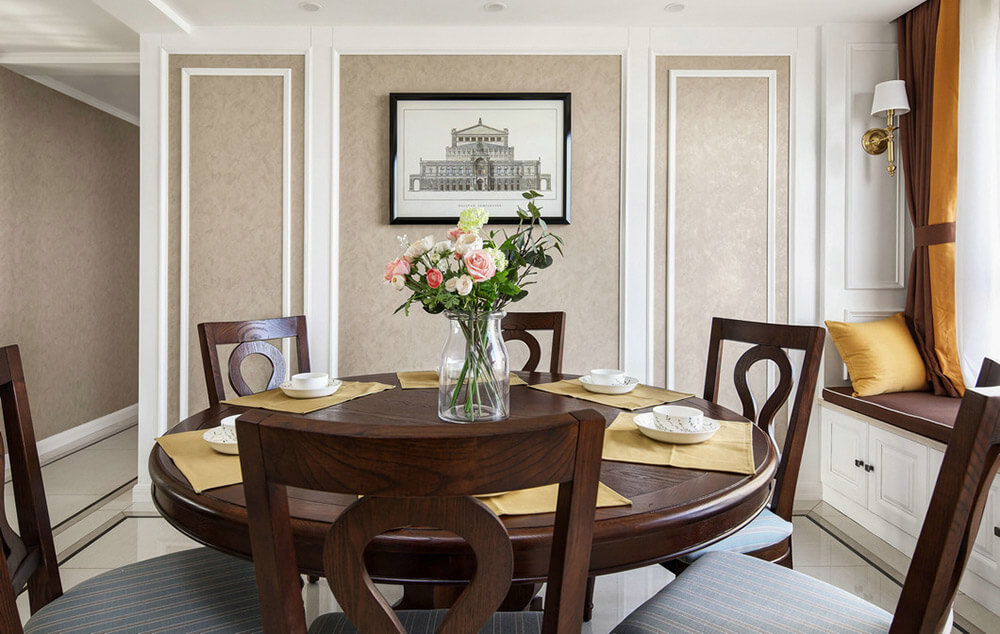 American Style dining table