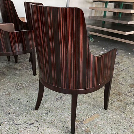 Custom made hotel Restaurant Dining chairs