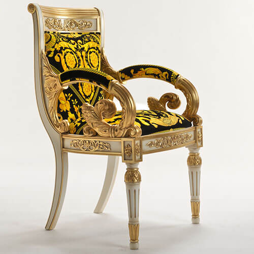 Versace Vanitas Arm Chair