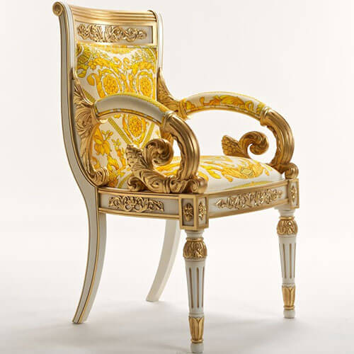 China Versace Vanitas Arm Chair Replica Suppliers