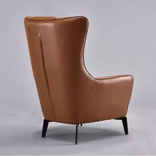 genuine leather lounge chair