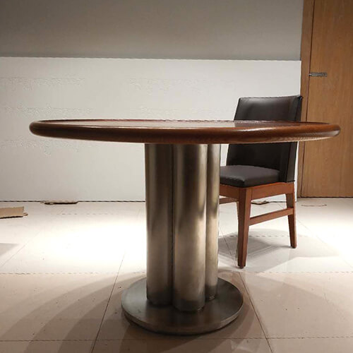 china-custom-made-stainless-steel-dining-table-suppliers