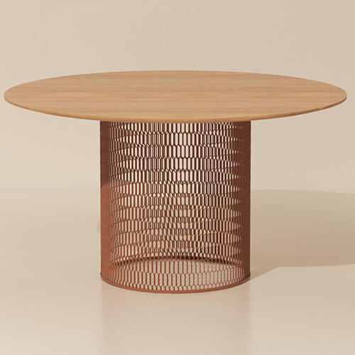 China Kettal Mesh Dining Table Factory