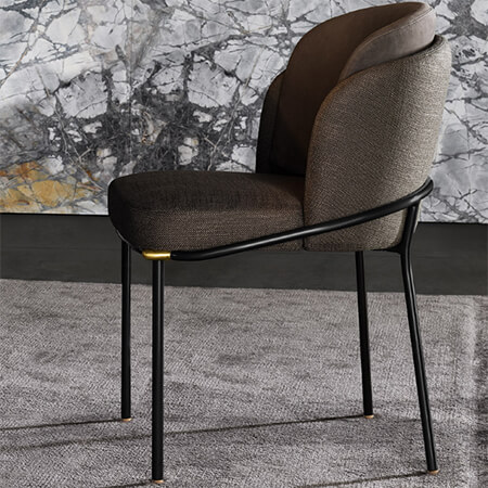Minottiy Fil Noir Dining Chair Replica Factory
