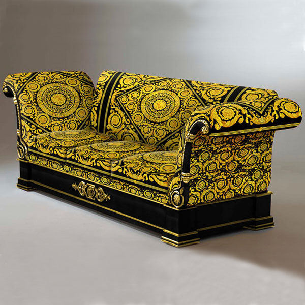 Italy Versace Ovidio upholstery sofa made in China
