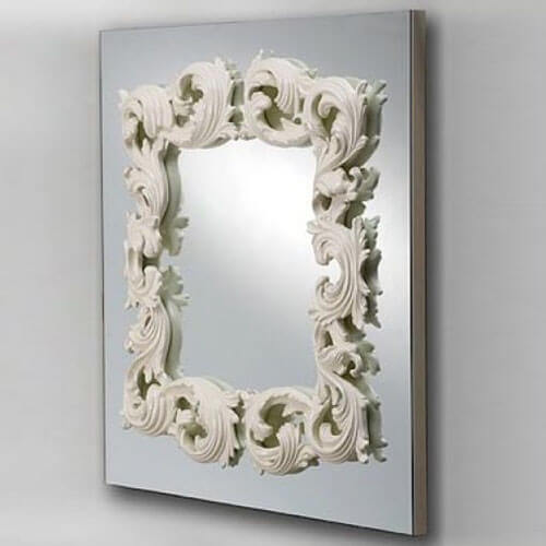 Versace Serge Mirror Solid wood Carving