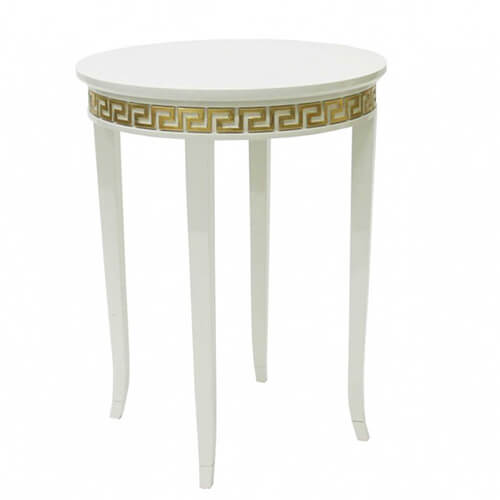 customized made versace meandre side table factory