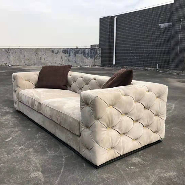 Customized Italy Leather Sofa Replica
